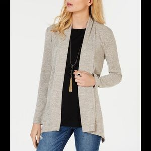 INC Shawl- Duster Sweater